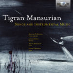 Tigran Mansurian « Songs and Instrumental Music », pochette de disque